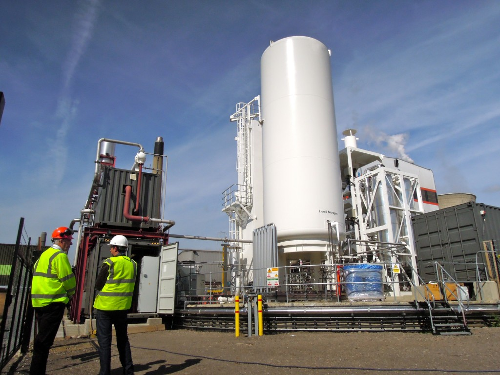 Highview's 300kW Pilot Plant in Slough